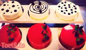 Dessert taartjes